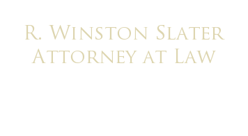 R. Winston Slater Attorney at Law - Winston Slater Algonquin Lawyer